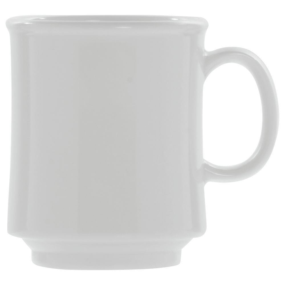 MUG, STACKING, 8 OZ, TRITAN, WHITE
