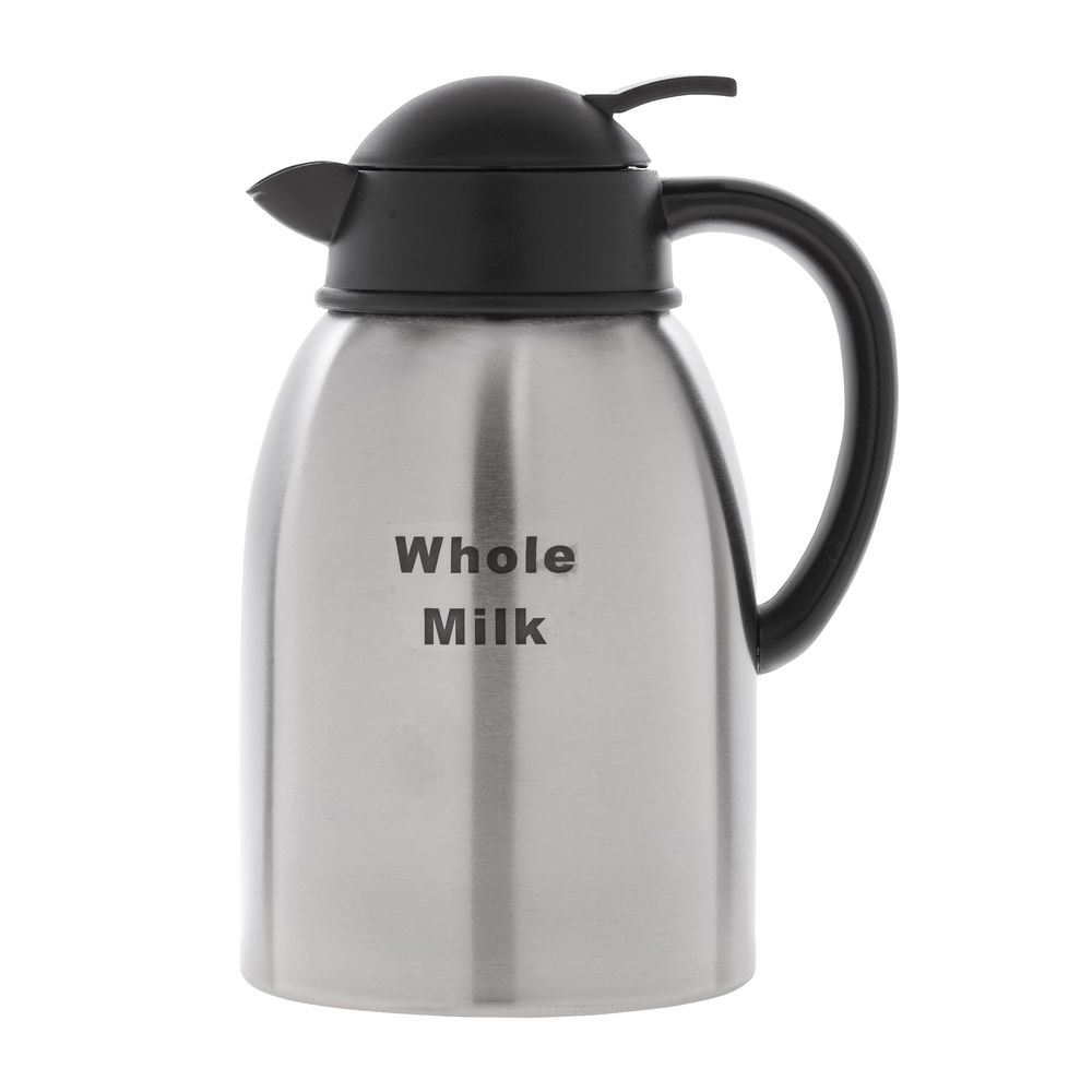 DECANTER, 1.9L, STAINLESS, WHOLE MILK