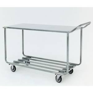 CART, PRODUCE BIN, GALVANIZED, 54X22X36""