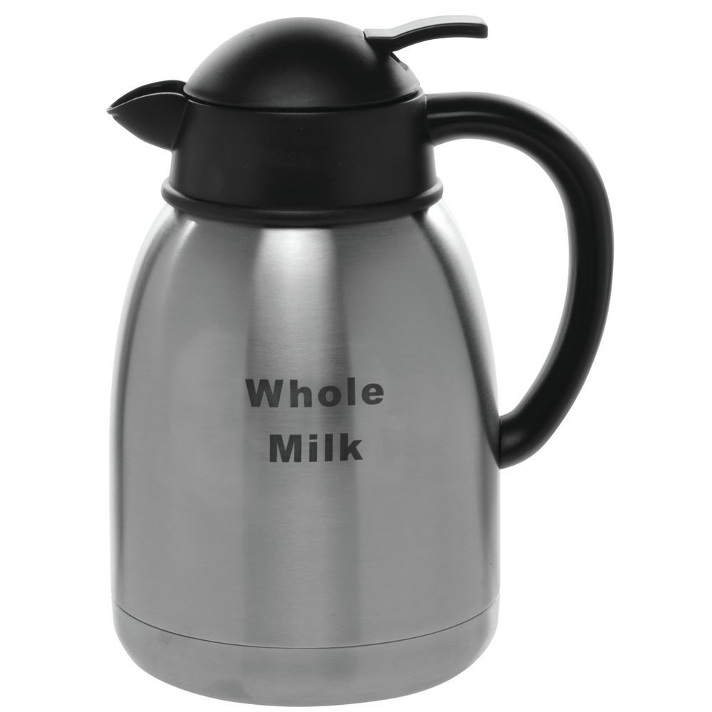 DECANTER, 1.5L, W/WHOLE MILK, STAINLESS