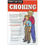 POSTER, FIRST AID, CHOKING, 11 X 17