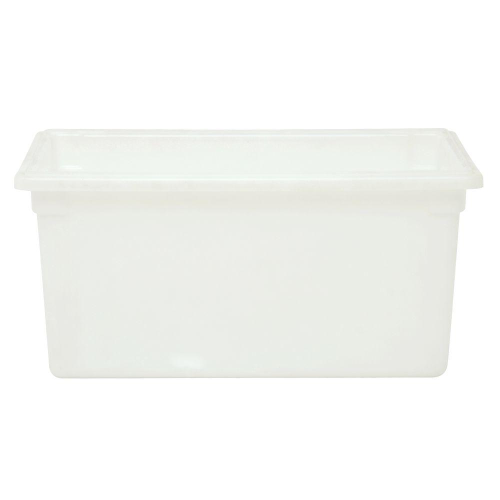 FOOD BOX, 16GALLON/62L, TRANSLUCENT WHITE