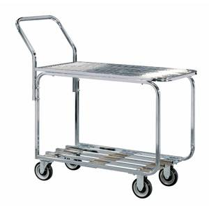 CART, WELDED, WIRE TOP/TUB BOT.STEEL, HUB