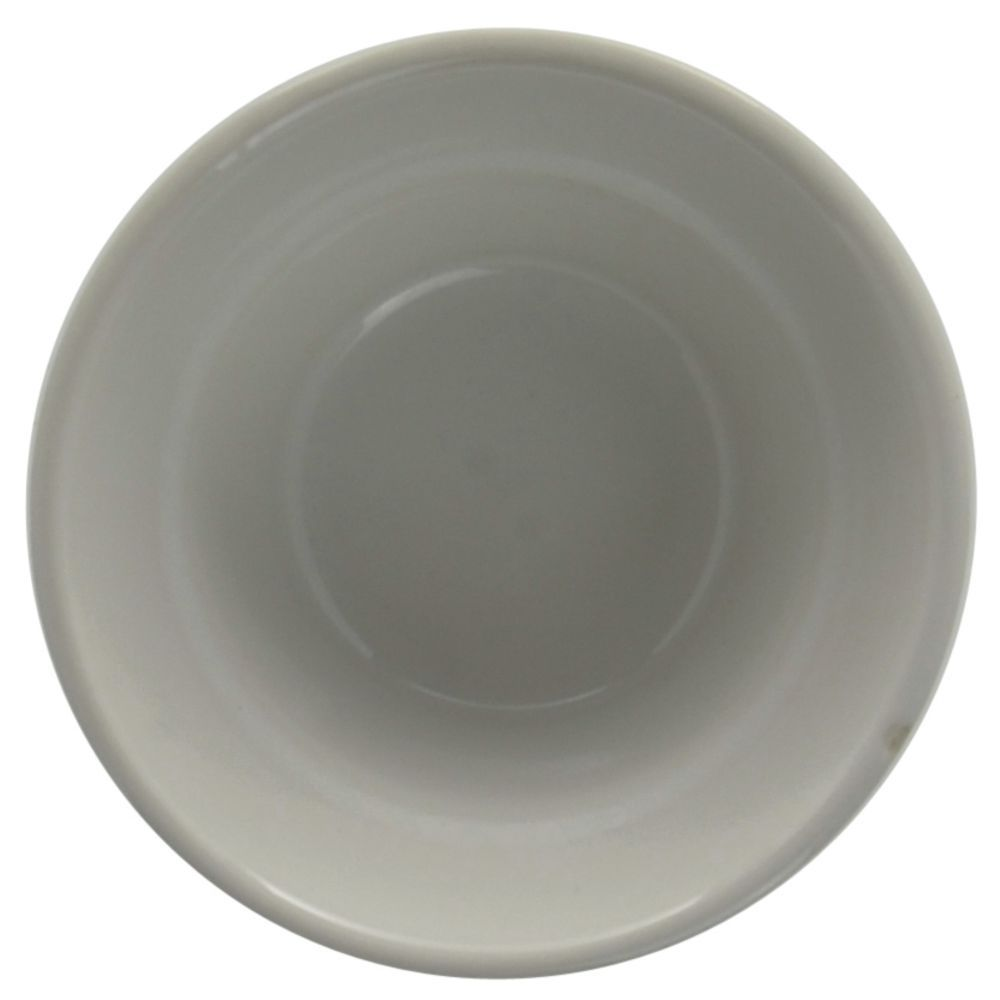 Hubert Rolled-Edge Bouillion 7 Oz  Bright White Stoneware Dishes