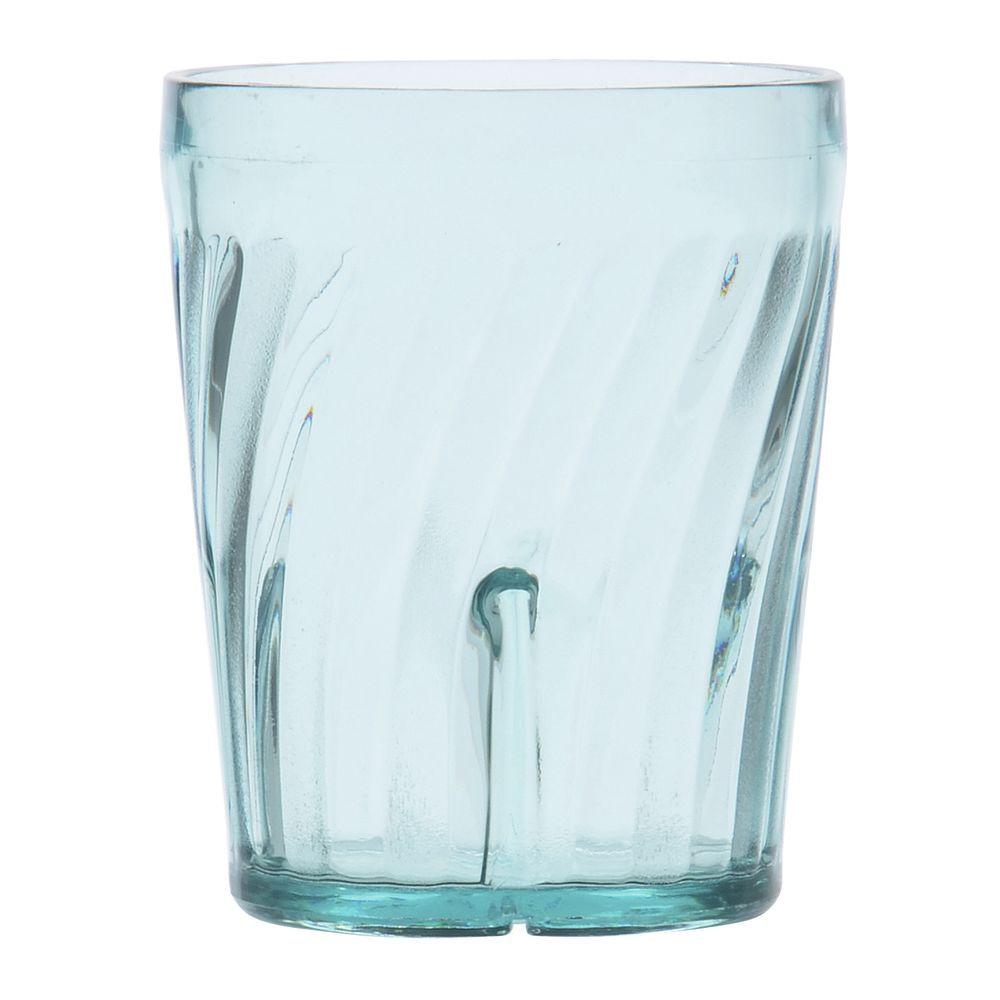 Cal Mil Rectangular Clear Acrylic Low Profile Platter