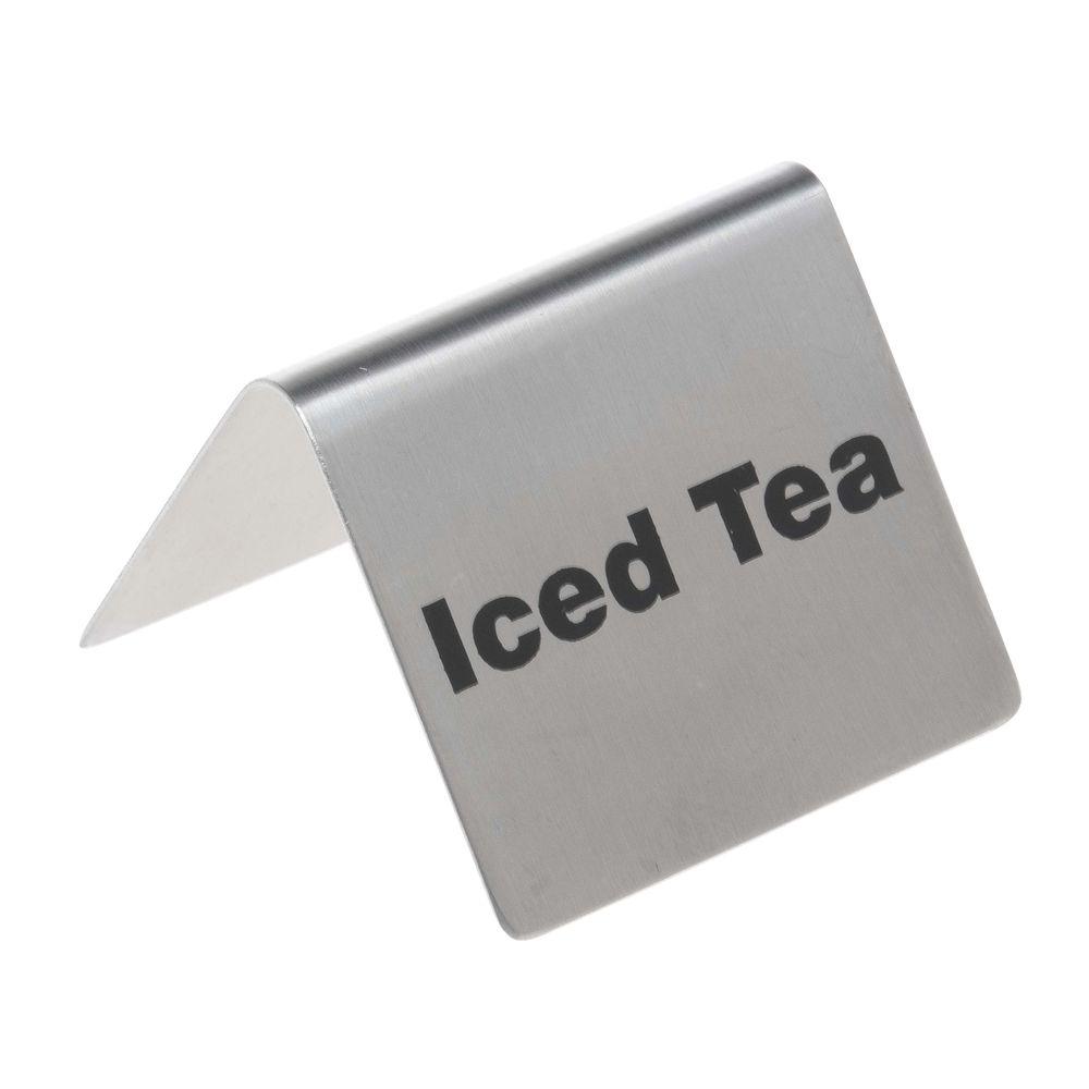 TENTS, BEVERAGE, ICED TEA, S/S 14/1, 2.5X2.2