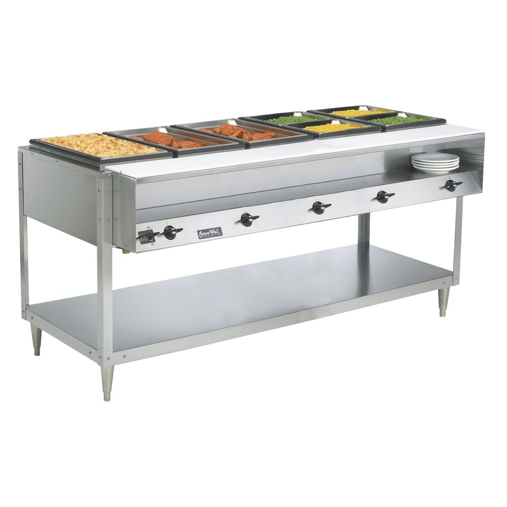 TABLE, HOT FOOD, SERVEWELL 5WELL 120/700