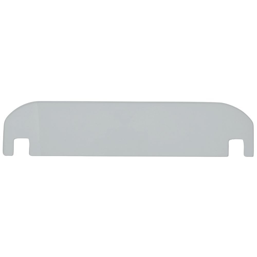 "Clear Divider for 16358 Stainless Tray 16""L x 4""H"