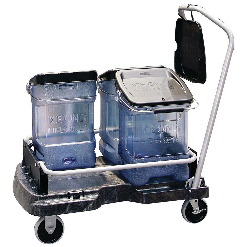 """Rubbermaid Proserve Ice Cart 21 1/2""""L x 6""""D x 39""""H"""