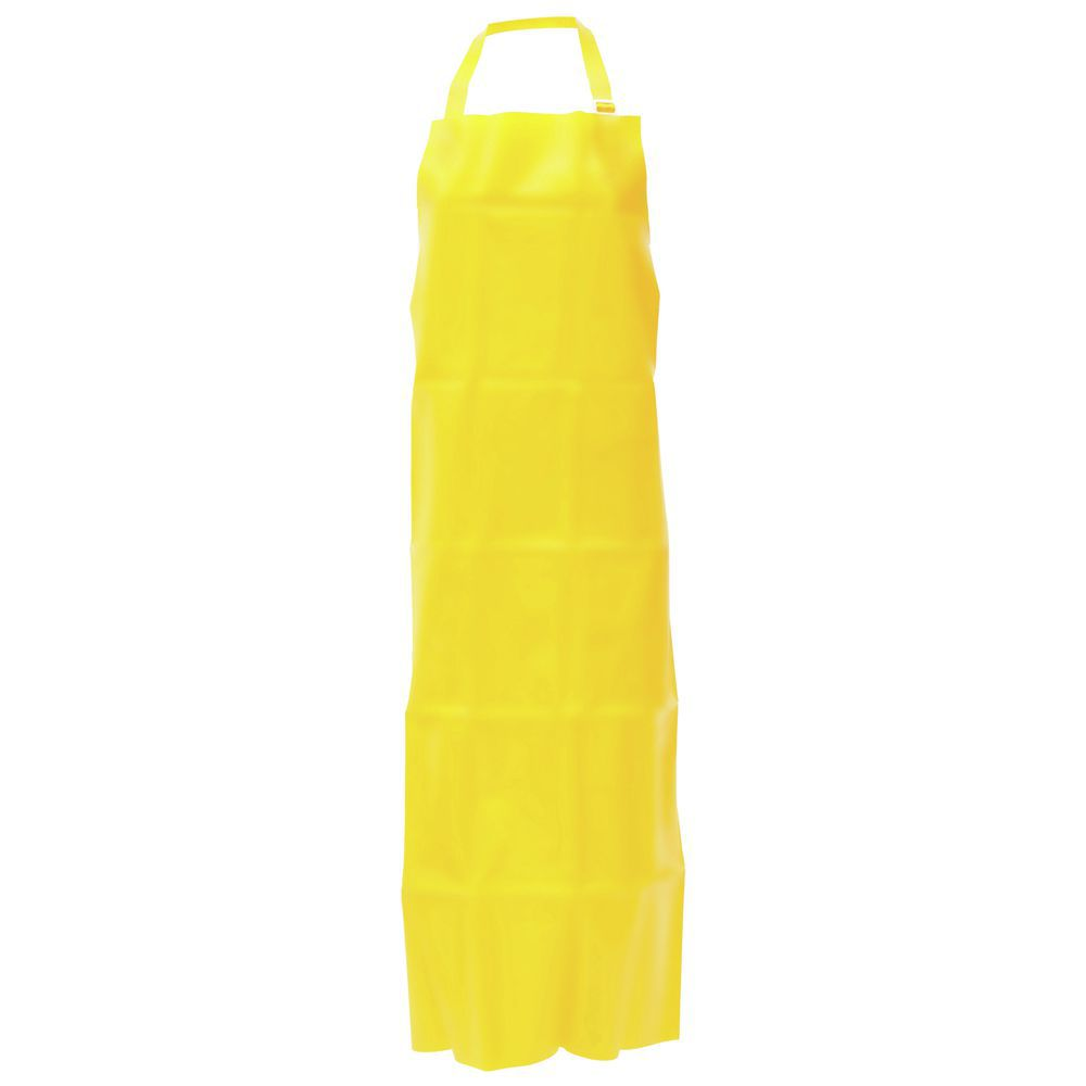 "APRON, YELLOW, 35"" X 50"", ENDUROSAF, BAGGED"