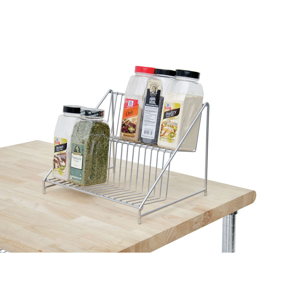 Countertop 2-Tier Commerical Spice Rack |Countertop 2-Tier Commerical Spice Rack
