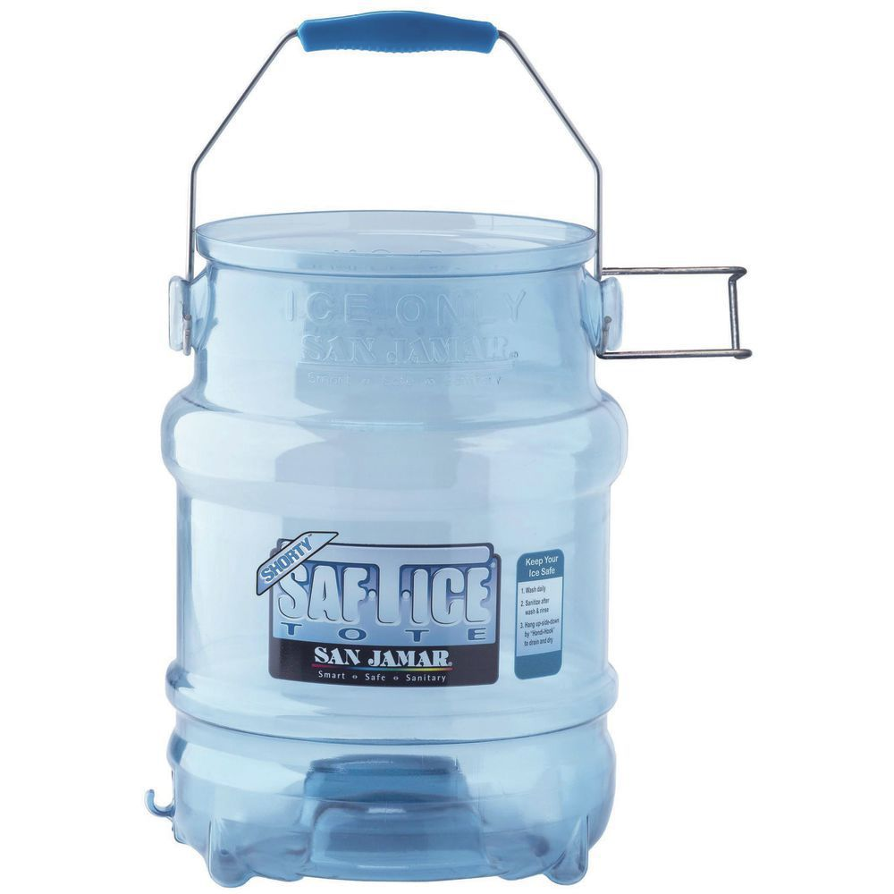 "Saf T Ice Tote 5 Gal Ice Carrier 9""dia x 14""H"