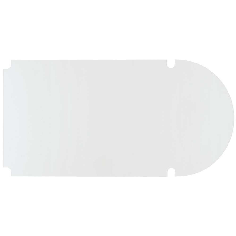 clear plastic shelf liners
