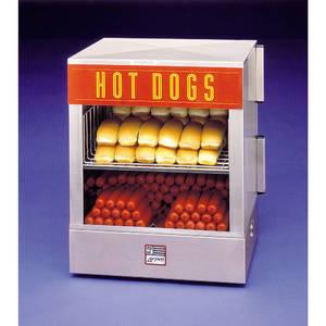 STEAMER, HOT DOG, 120V-800W-6.7AMP