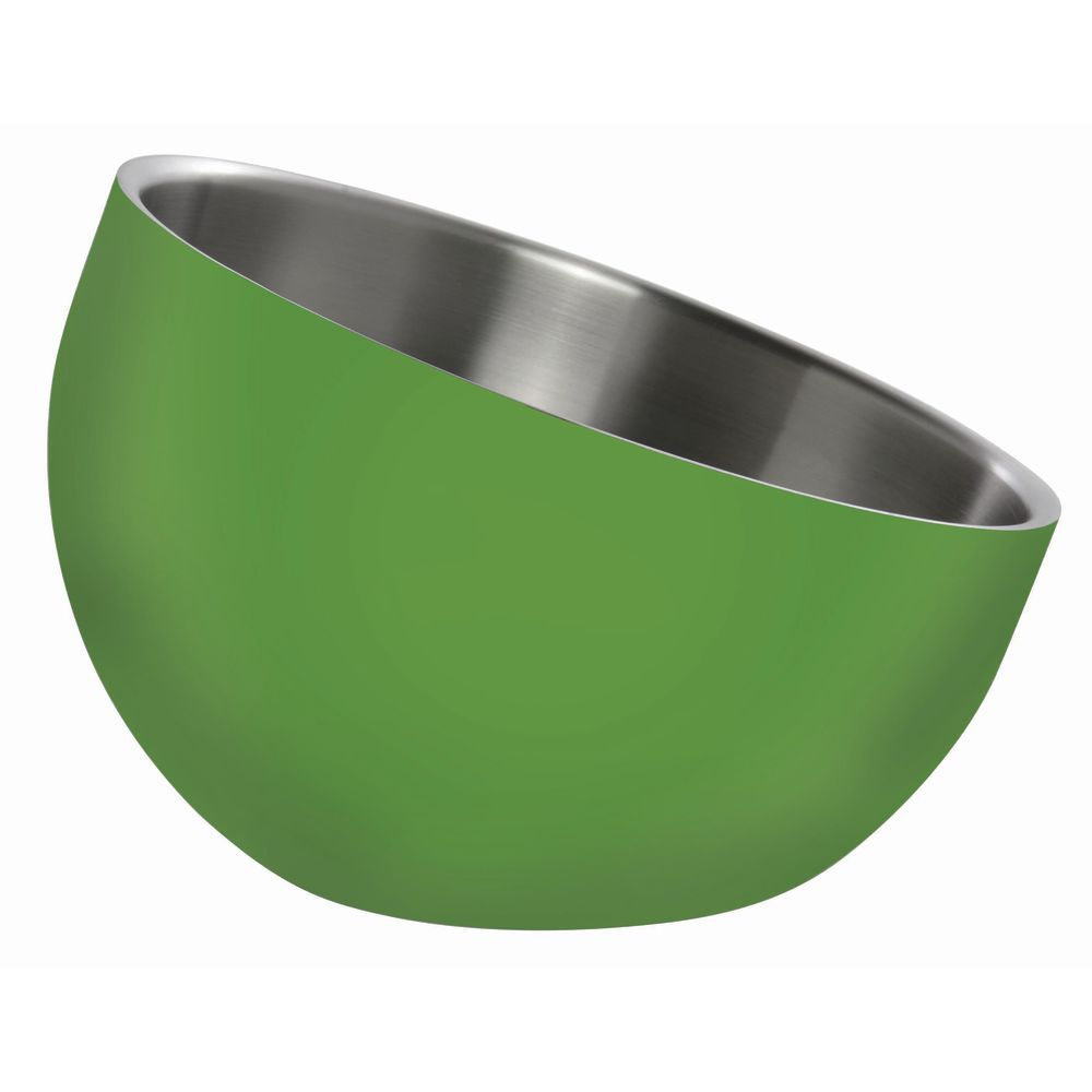 BOWL, DW, GREEN, INCLINE, 7X5.5X3, STAINLESS