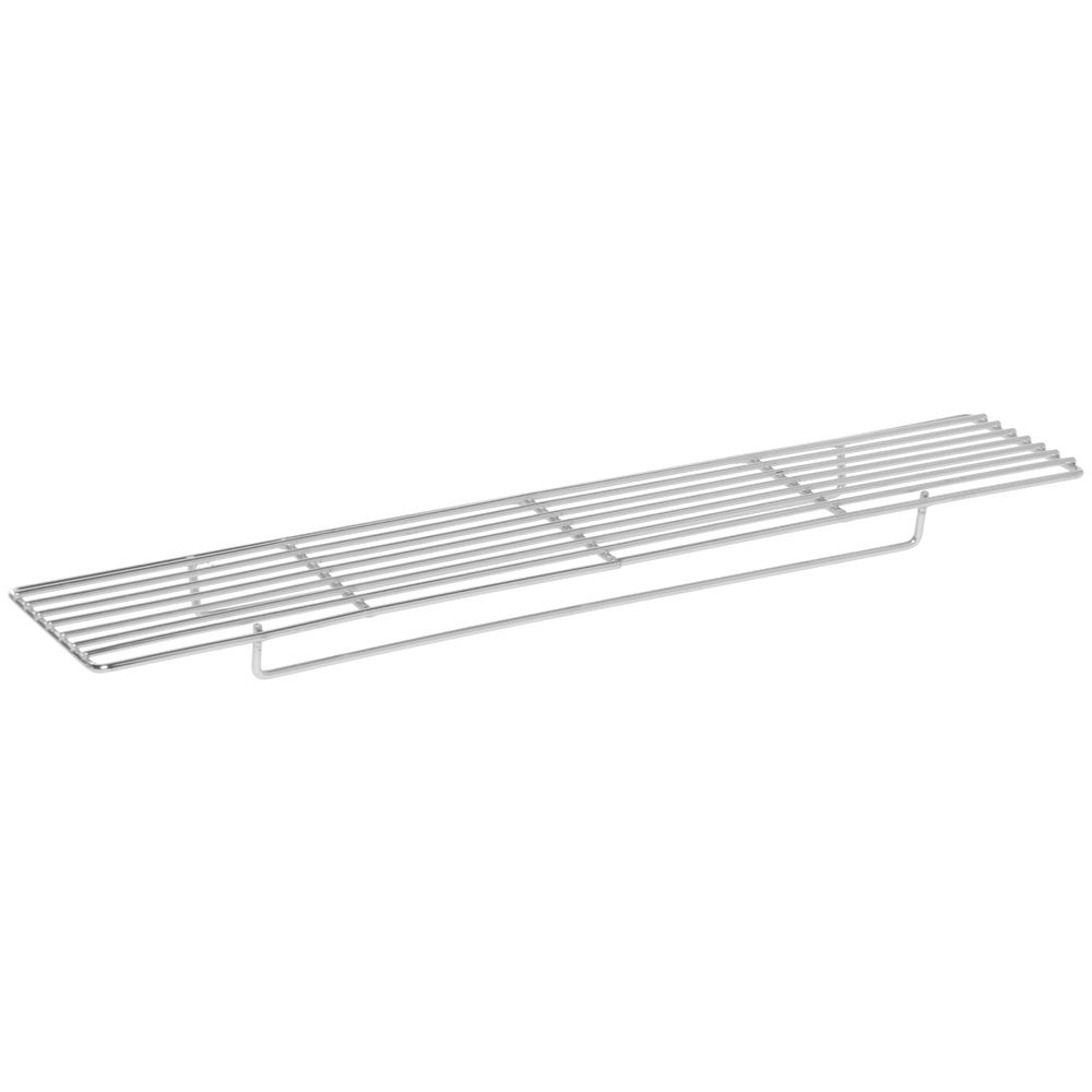 """Cooling And Glazing Wire Rack 18""""L x 5""""W x 3/4""""H Nickel-Plated Steel"""