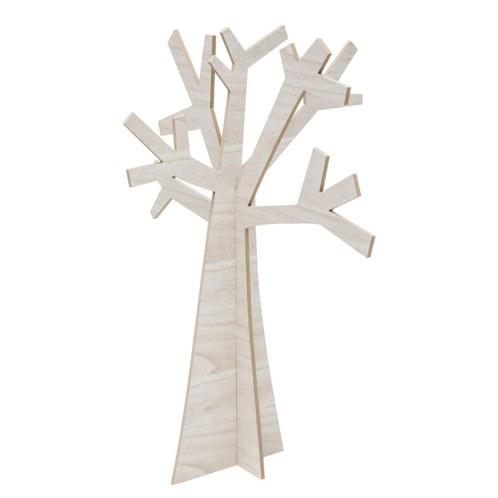 Decorative Wooden Tree 9 12l X 30 12w X 47 12h