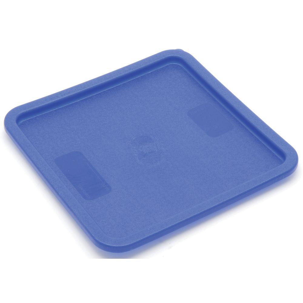 Hubert 12 18 And 22 Qt Blue Plastic Square Food Container