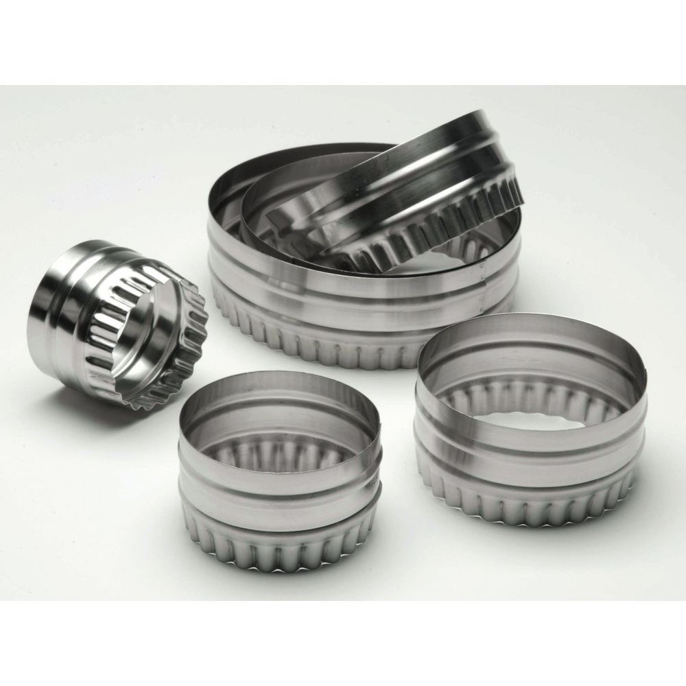 CUTTER, DBLE SIDED, ROUND, 6 PC