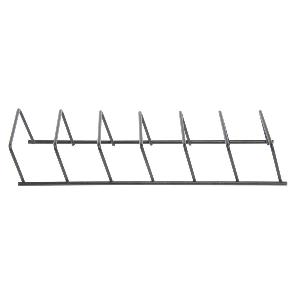 """Expressly HUBERT® Wire Rack Organizer 12 1/4""""L x 4 3/8""""W Black"""