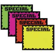 CARD, PROMO, SPECIAL, RECT.BURST, 3.5 X 5.5