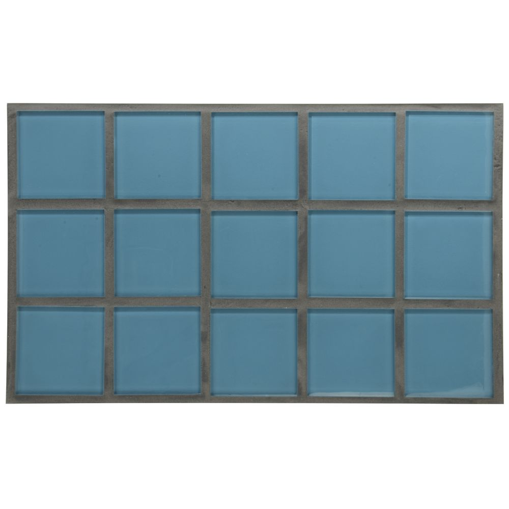 1.0 HOT TILE, TURQUOISE GLASS