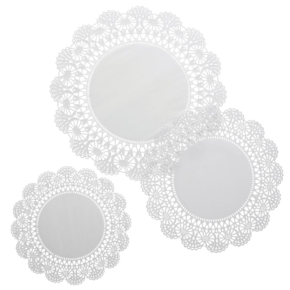 Hester And Cook White Paper Doilies Doyleys