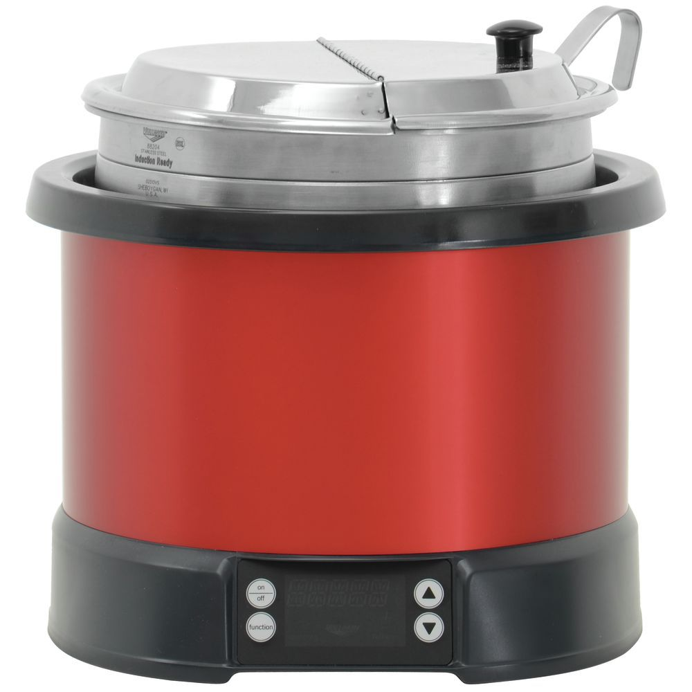RETHERMALIZIER, INDUCTION, 11 QT RED