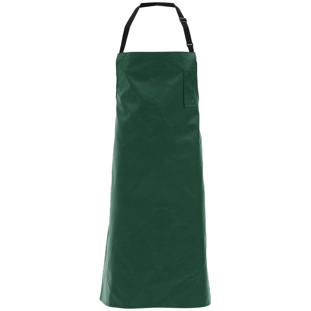 APRON, SUPPORTED SYNTH.LEATHER, DARK GREEN
