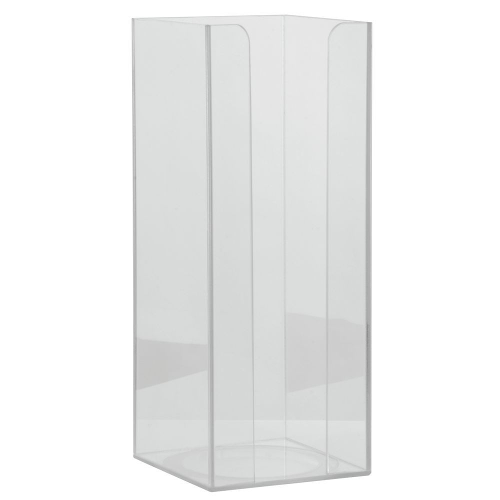 HOLDER, CUP/LID, CLEAR, 4X4X10