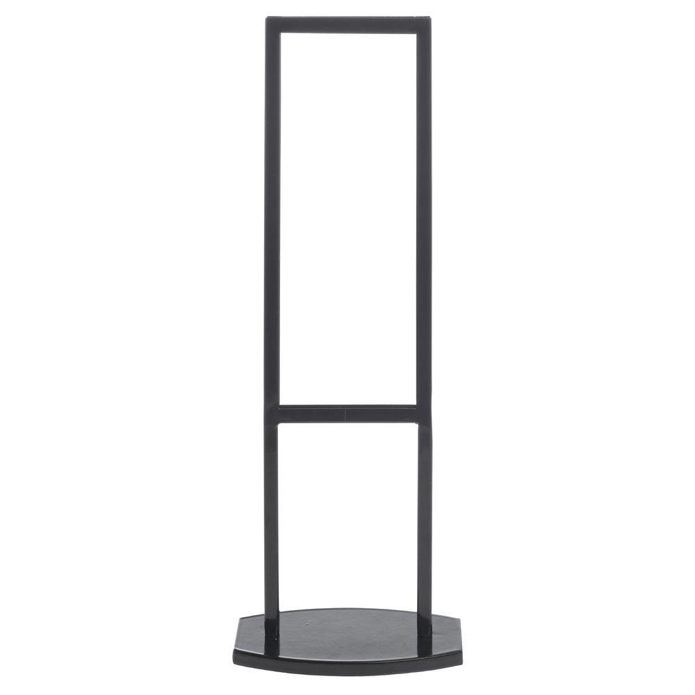 Hubert Black Metal Countertop Sign Frame 6 18l X 3 38w X 17 34h