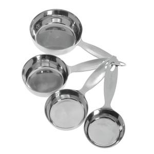 MEASURING CUP SET, 18-10 SS, HEAVY DUTY