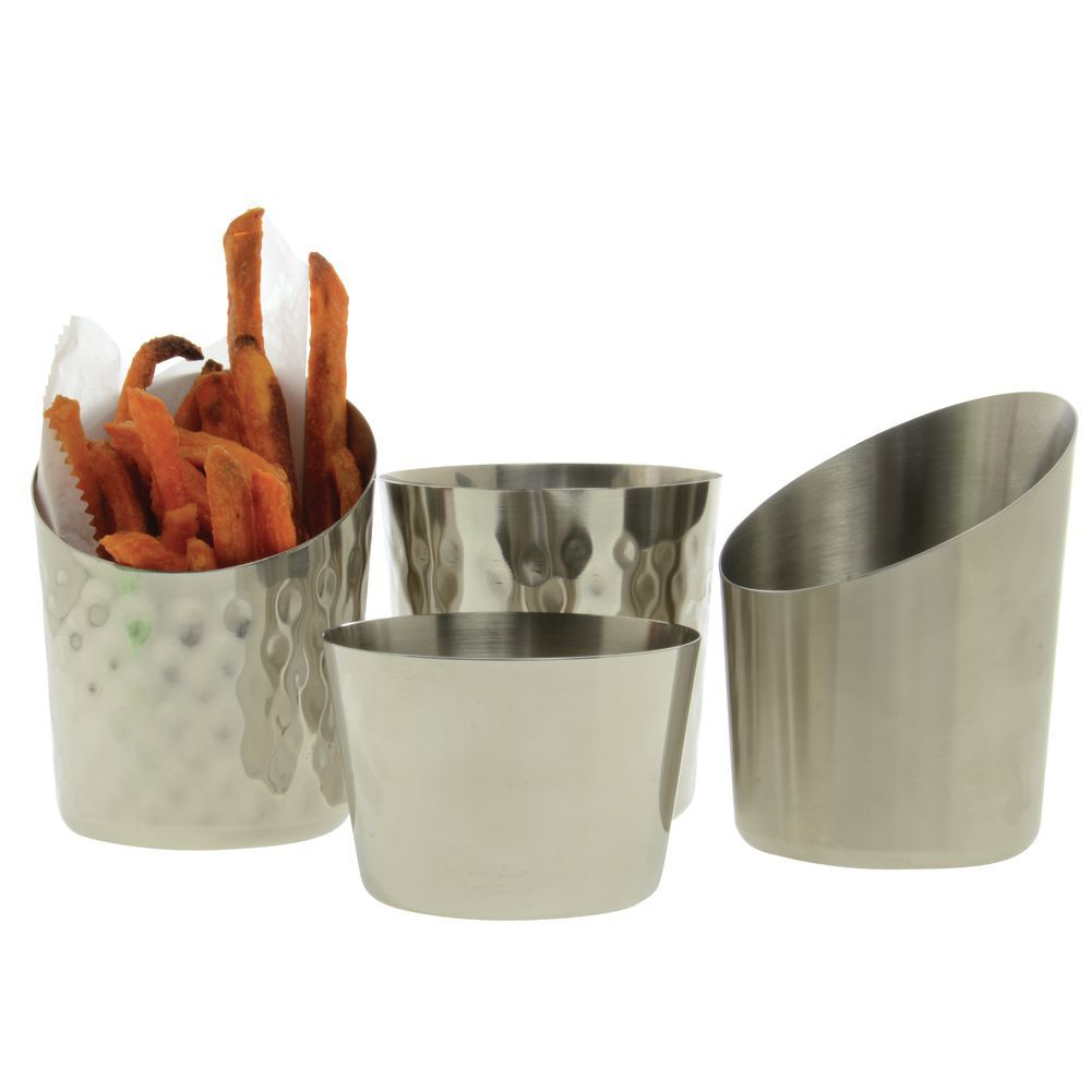 CUP, FRENCH FRY, PLAIN, SS
