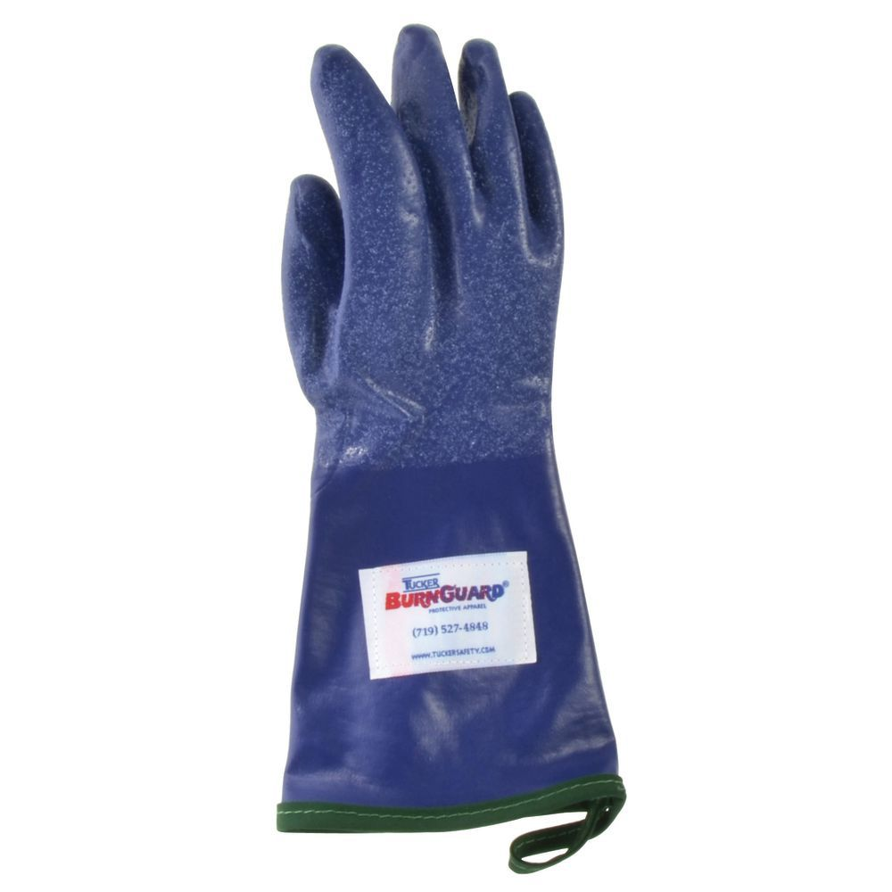 "STEAMGLOVE, MEDIUM, 14""L, BLUE, PR"