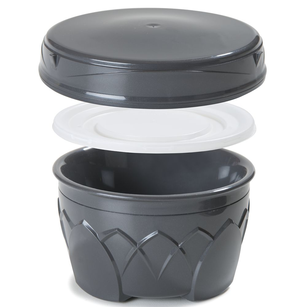 LID, DURATHERM, INSULATED, GRAPHITE GREY