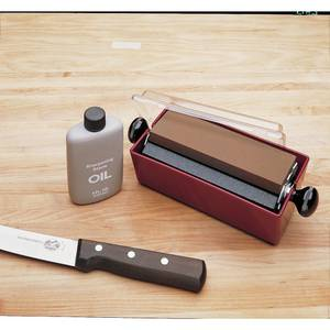 3 IN 1 KNIFE SHARPENING SYSTEM, 6X2X1/2