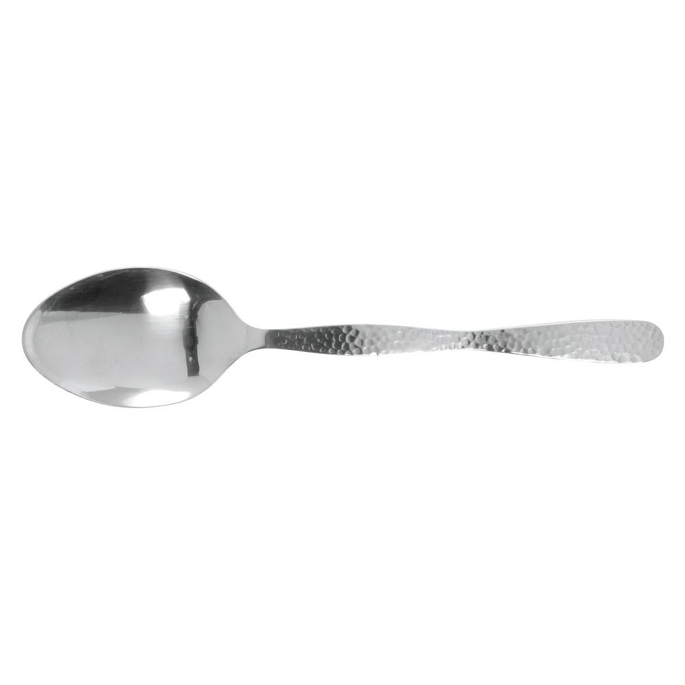 """SERVING, SPOON, SOLID, HAMMERED, SS, 10""""L"""