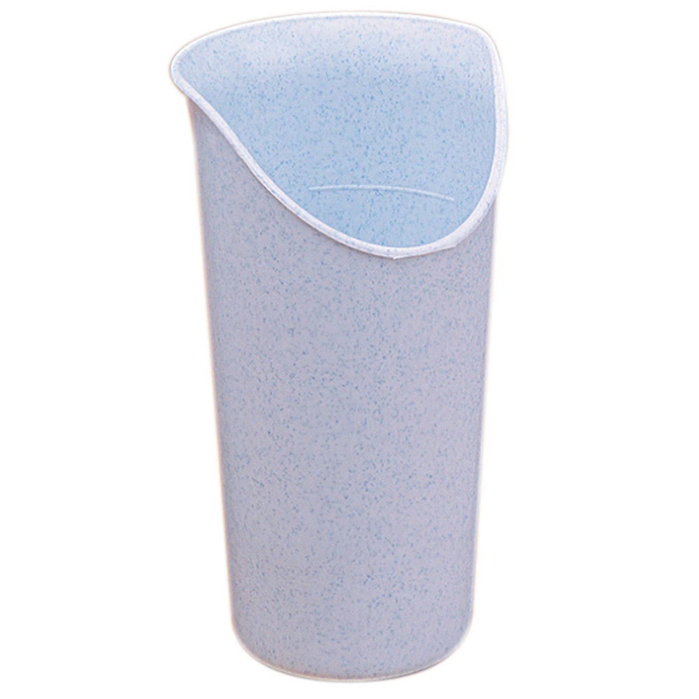 CUP, NOSEY, 8OZ, LT BLUE, PK OF 6