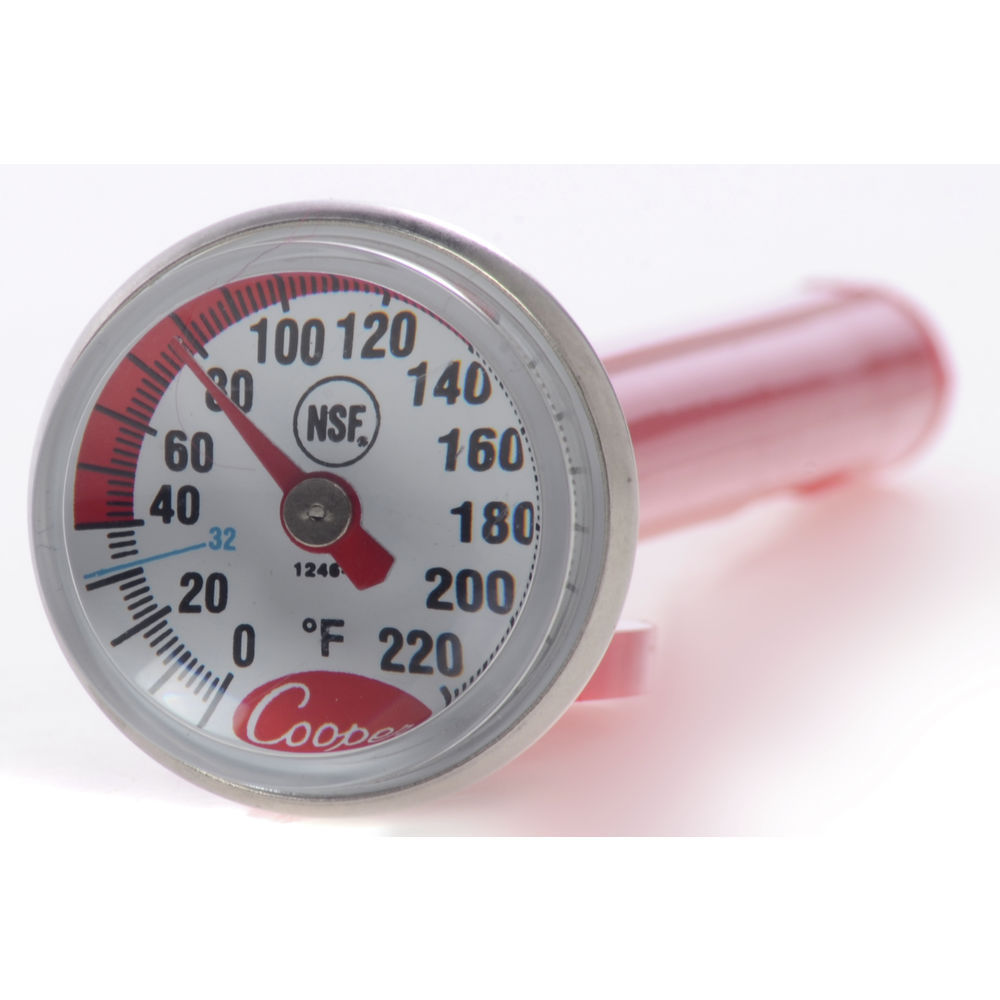 THERMOMETER, BABY DIAL, 0/220, NSF