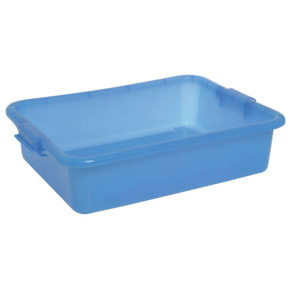 "Food Boxes Solid 20""L x 15""D x 5""H Blue"
