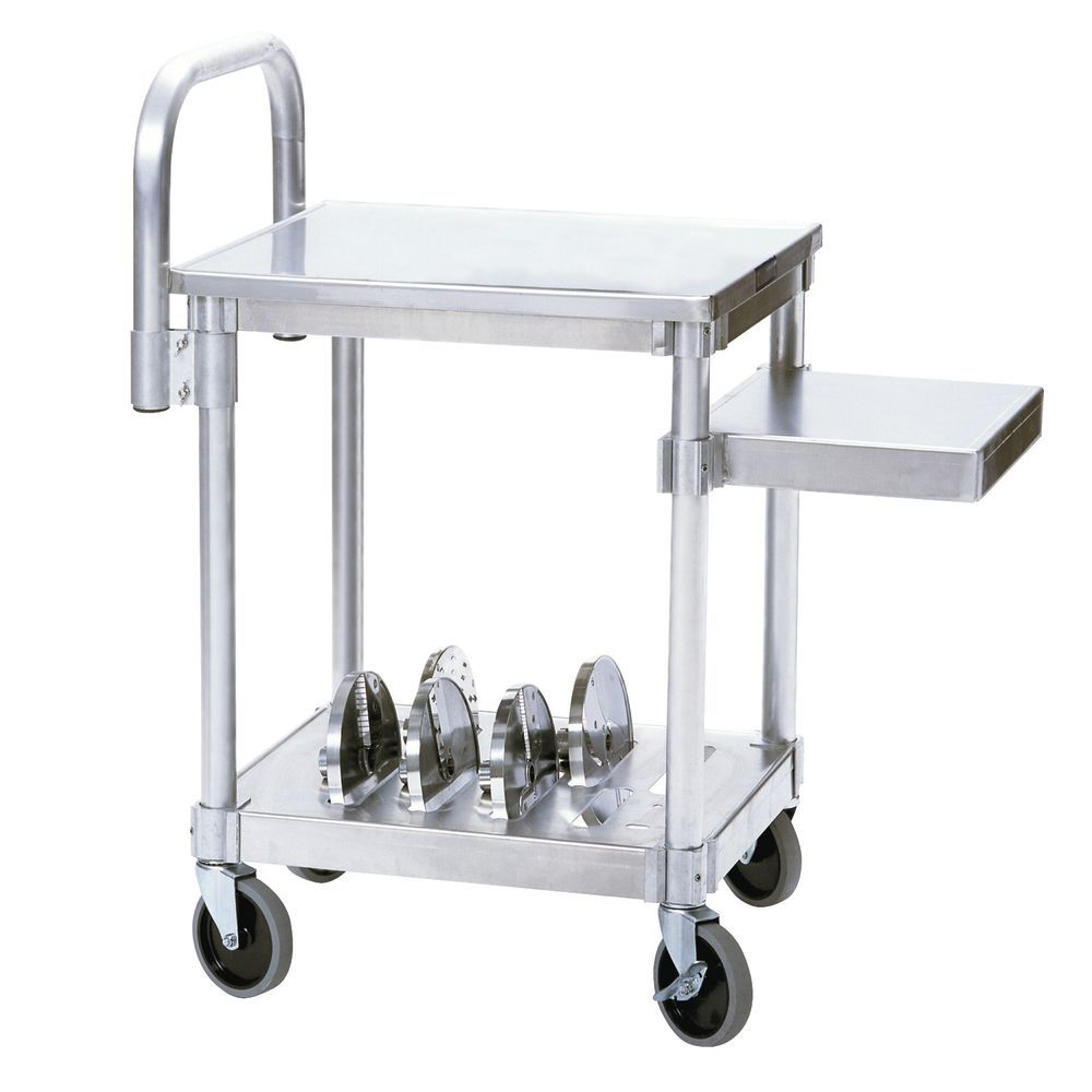 Robot Coupe Aluminum / Stainless Steel Food Prep Machine Cart With ...