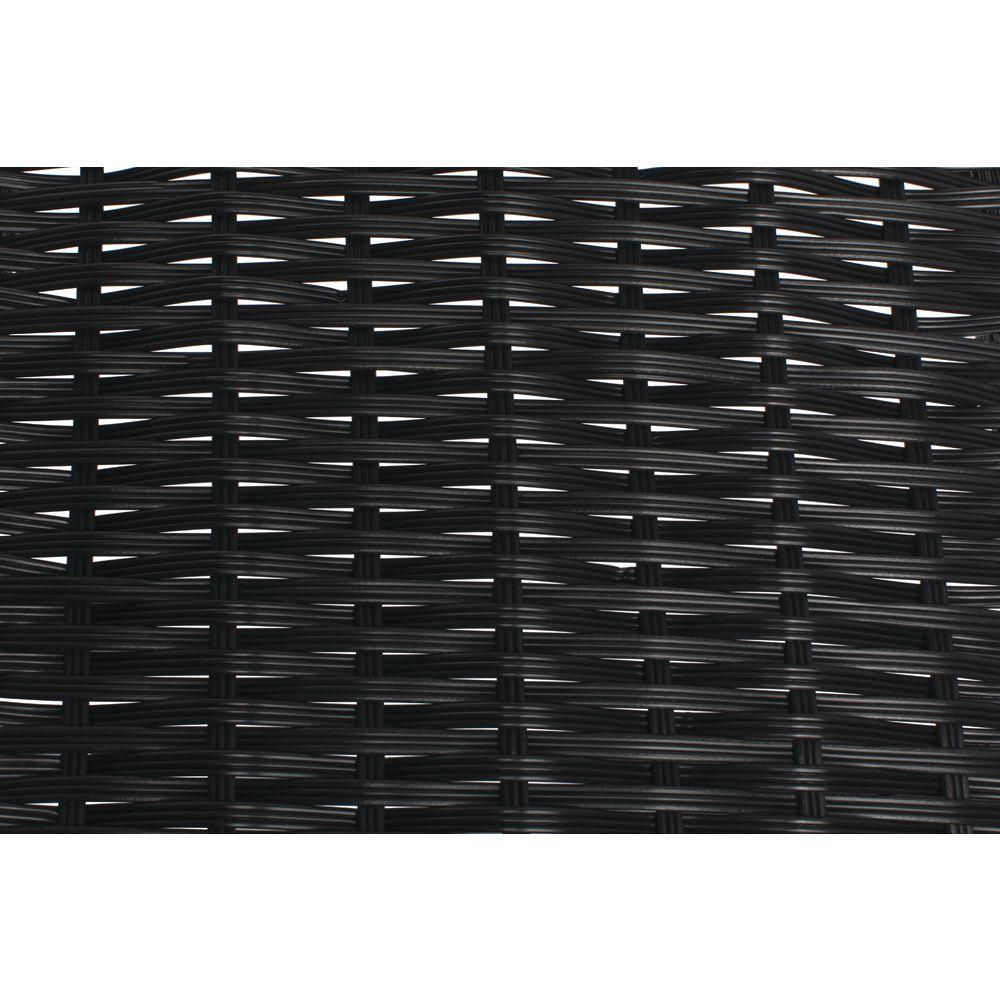 BASKET, 18DX7.5LX5HX1.5H, TRI-CORD, BLACK