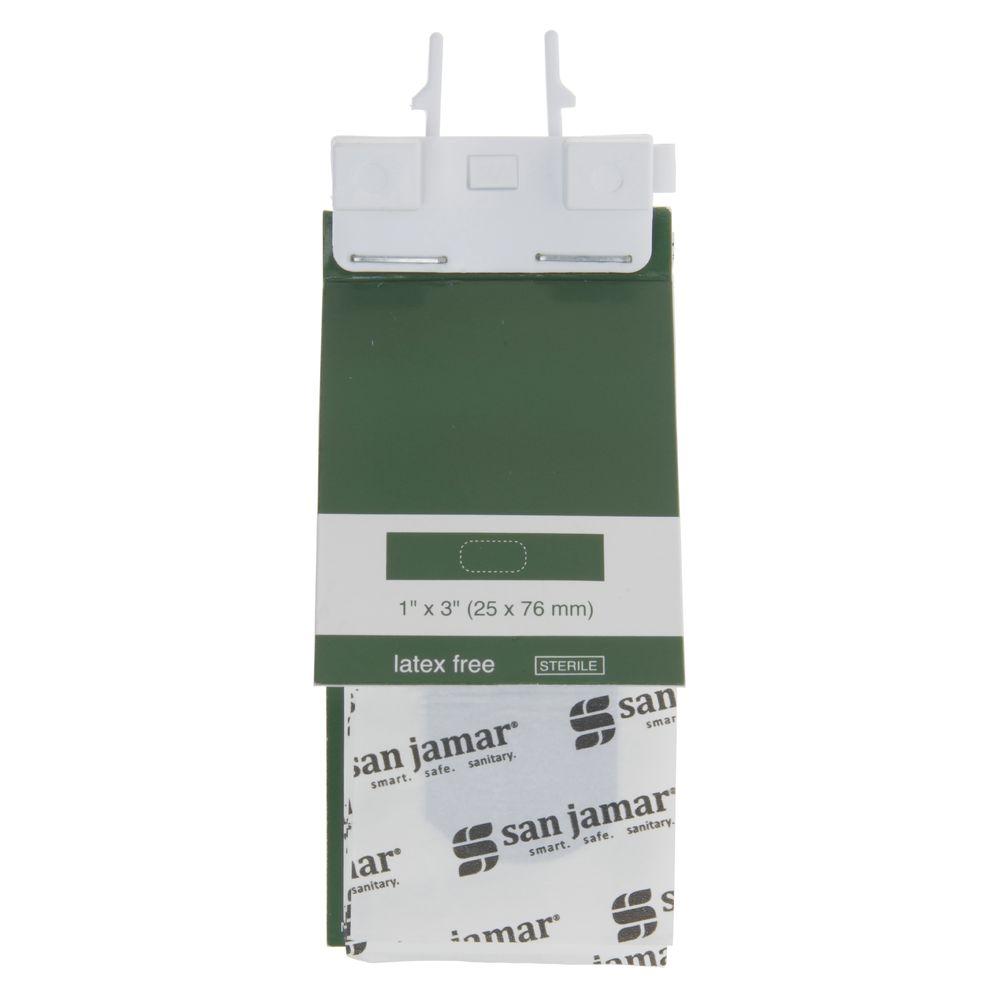 San Jamar Mani-Kare® Latex-Free Blue Strip Bandage Cartridge