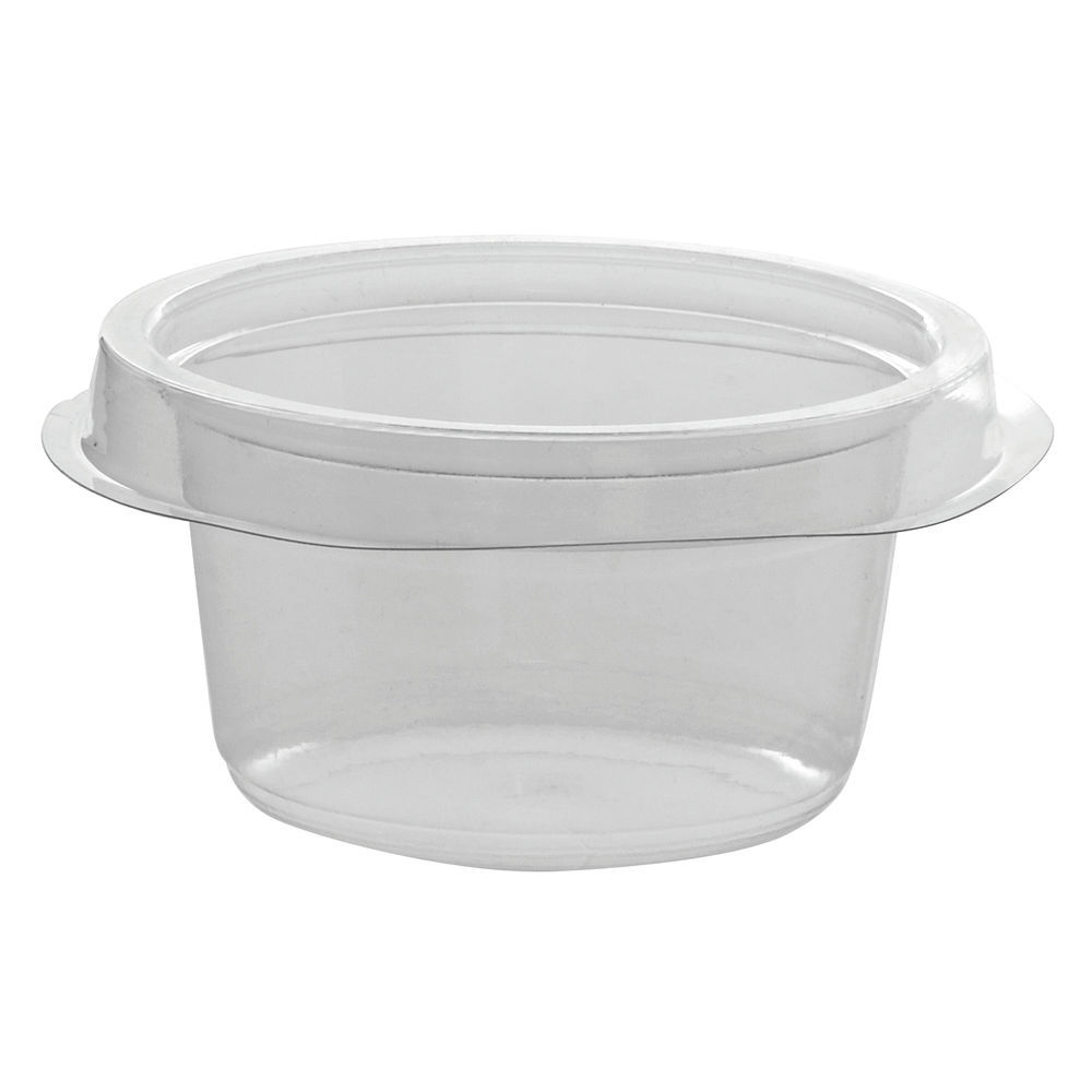 Safe T Fresh Clear 4 Oz Snack Cup Insert 3 58dia X 1 34h
