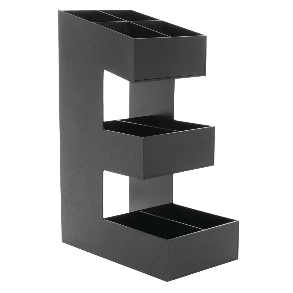 Coffee Condiment Holder with 3 tiers