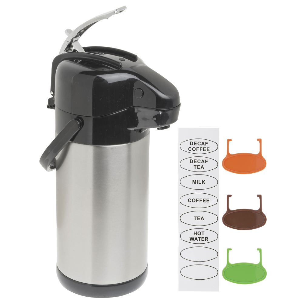 AIRPOT, SS LINER, LEVER, 2.5L