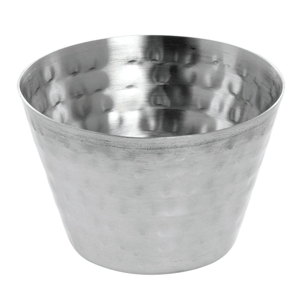 Stainless Steel Condiment Cups Have A 4 Oz. Capacity
