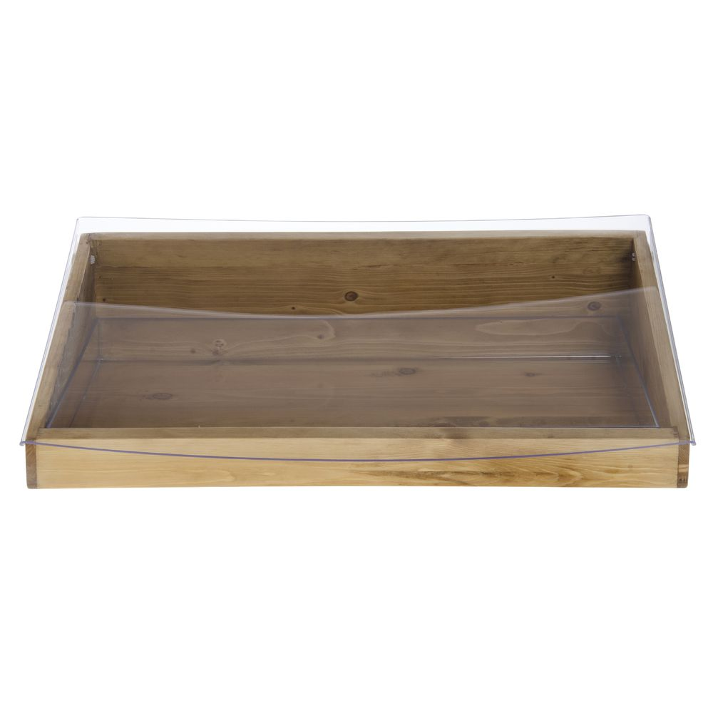 "Cal Mil Wood Bin Madera Collection 20""L x 11""W x 6 1/2""H"
