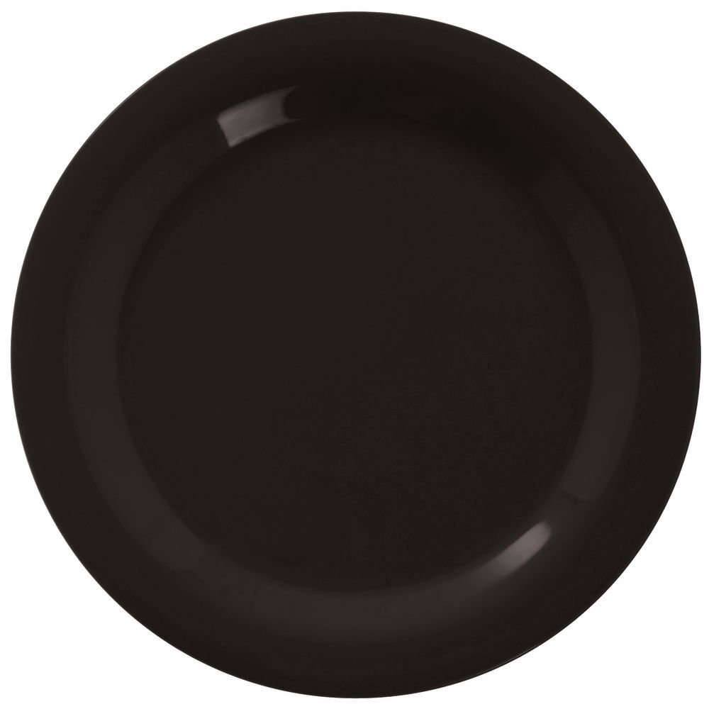 sc 1 st  Hubert.com & Carlisle Sierrus™ Black Melamine Dinner Plate - 10 1/2 Dia