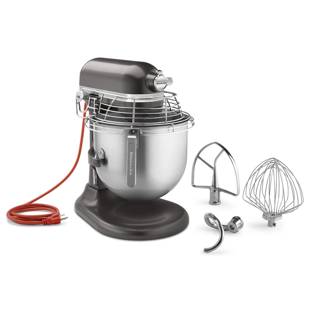 MIXER, 8QT, W/BOWL GUARD, DARK PEWTER